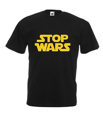 STOP WARS T-SHIRT S-XXL Funny Men's S-XXL Not Star Choose Colour