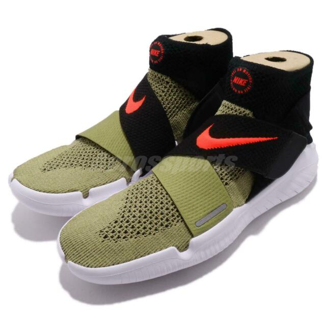 0c28bd2ba9b0 Nike Free RN Motion FK 2018 Run Flyknit Olive Green Men Running Shoe  942840-200