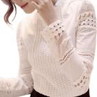 Self Portrait White Lace Blouse Top S M L XL XXL XXXL