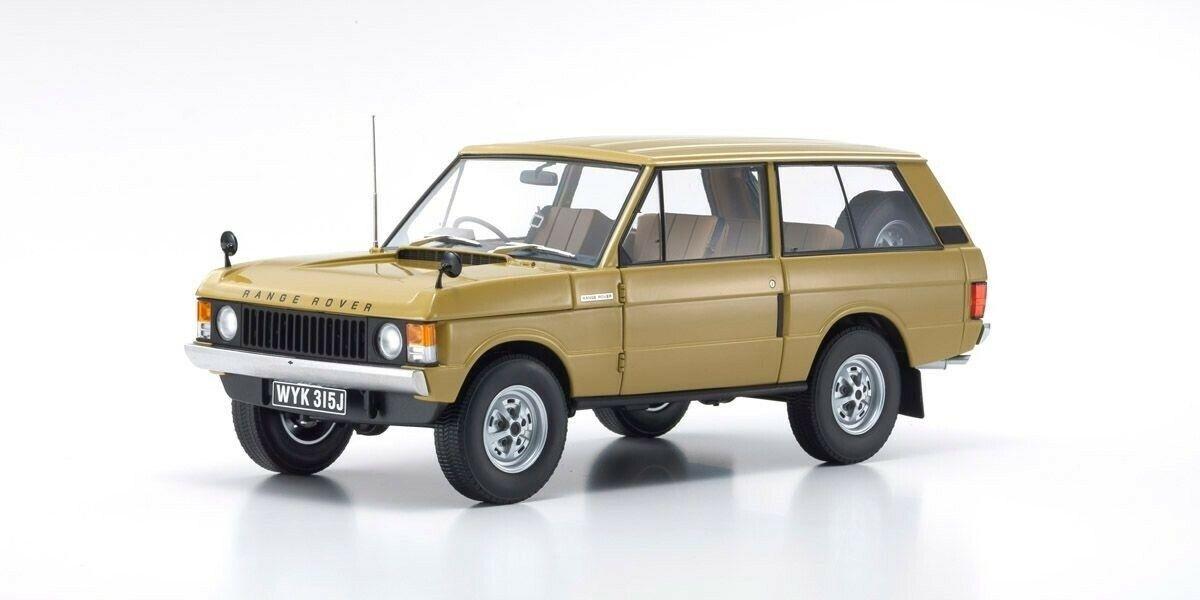 Presque Real AL810103 1 18 Range  Rover 1970 Jaune Modèle Voitures  confortablement
