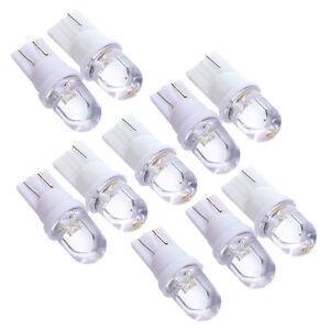 Lot-10-Voiture-Ampoule-Lampe-Veilleuses-LED-W5W-T10-effet-Xenon-Blanc-12v-R5T6