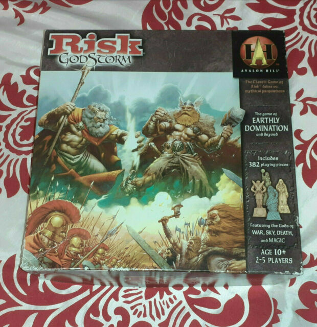Risk Godstorm-Board Game-RPG-Avalon Hill & Wizards of the Coast