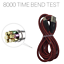 miniature 3 - 3Pack USB Fast Charger 10FT Heavy Duty Cable For iPhone 8 7 XR Charging Cord RED