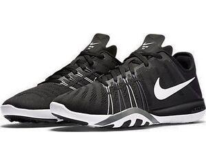 New Women's Nike Free TR 6 Black White