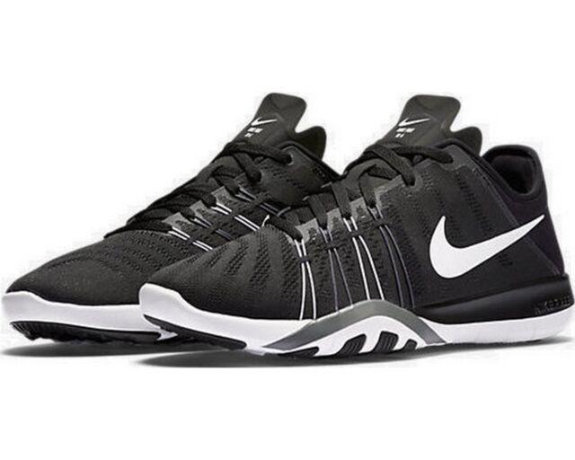 ea3689901d30 New Women s Nike Free TR 6 Black White Cool Grey running training 833413-001