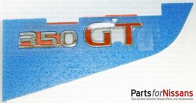 JDM Nissan 03-08 Infiniti G35 Sedan 4 Door Skyline V35 Rear 350GT Emblem Badge