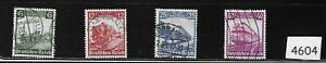 Complete-stamp-set-1935-Historic-TRAINS-1930s-Germany-Full-Third-Reich-set