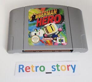 Nintendo-64-N64-Bomberman-Hero-PAL