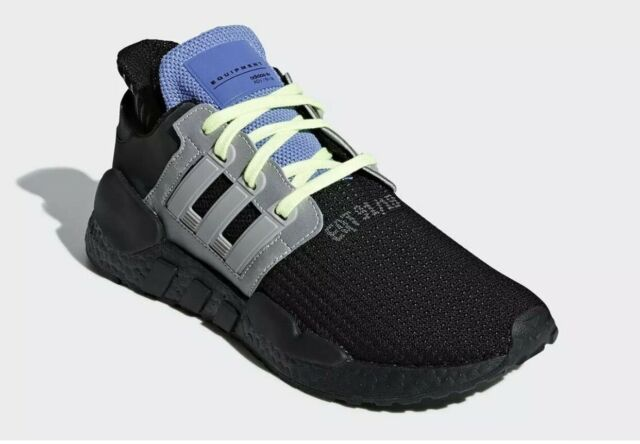 pretty nice 3f427 19d57 adidas EQT Support 91/18 CG6170 Running Shoes Boost Black 100 Authentic  Size 9