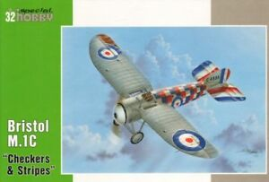 SPECIAL HOBBY SH32057 1//32 Bristol M.1C Wartime Colours