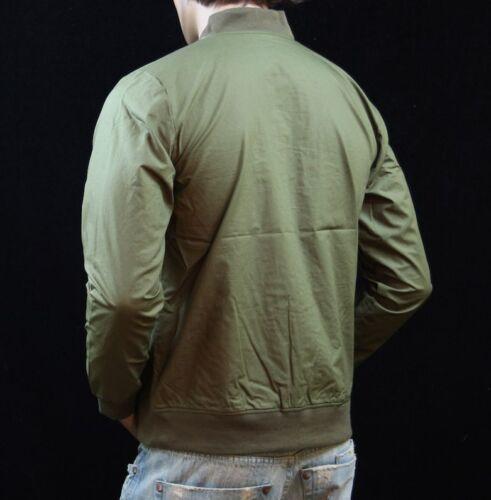 Men/'s Vintage Retro Bomber Jacket Classic Casual Zip Up Coat Hipster  S-5XL