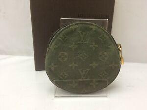 Auth-Louis-Vuitton-Monogram-Mini-Porte-Monnaie-Ron-Coin-case-9C131400bn