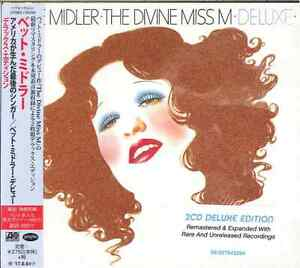 BETTE-MIDLER-THE-DIVINE-MISS-M-DELUXE-Import-w-JAPAN-OBI-2-CD-G22