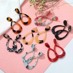 Women-039-s-Acrylic-Geometric-Dangle-Long-Drop-Statement-New-Earrings-Jewelry-U-G9K0