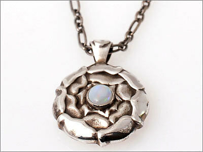 Georg Jensen Pendant Of The Month October w Opal