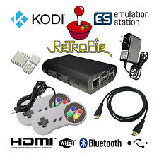 Raspberry Pi Retro Game Console - 32GB + Controllers + RetroPie + Kodi + More