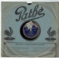 78T SAPHIR Orchestre MONDAIN José SENTIS Disque Phonographe CAPRICHO -PATHE 8321