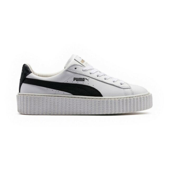 check out 2e1b1 a2bd6 Authentic Men's PUMA Fenty by Rihanna Creeper White Leather Us10 EUR 43