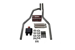 "Chevy GMC 1500 15-18 2.5/"" Dual Exhaust Kits Flowmaster 40 Series Clamp on Tip"