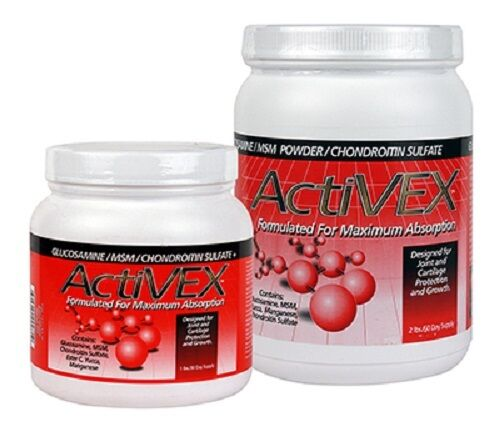 ActiVEX Joint Powder Glucosamine MSM Chondroitin Sulfate  Yucca Horse Supplement  most preferential