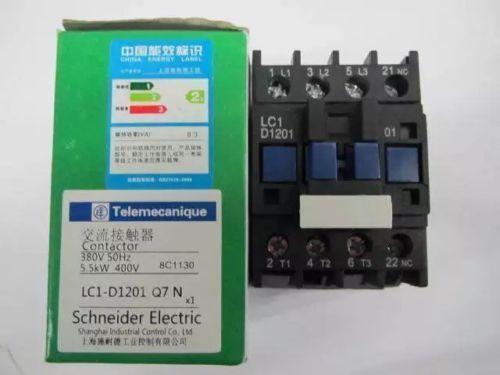Fst  New  Schneider  LC1-D1201Q7N  AC380V  Ac contactor  free  shipping