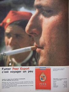 PUBLICITE-PRESSE-1962-CIGARETTE-PEER-EXPORT-C-039-EST-VOYAGER-UN-PEU-TABAC