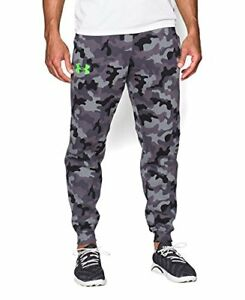 9b1e59a8b24 New With Tags Men s Under Armour Camo Gym Muscle Jogger Pants ...