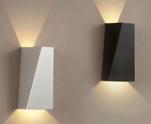 APPLIQUE DA PARETE LAMPADA LED DESIGN MODERNO 220 VOLT LED Up ...