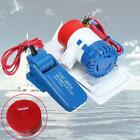 12V 1100GPH Boat Submersible Bilge Water Pump+Float Switch For Yacht RV/Camping