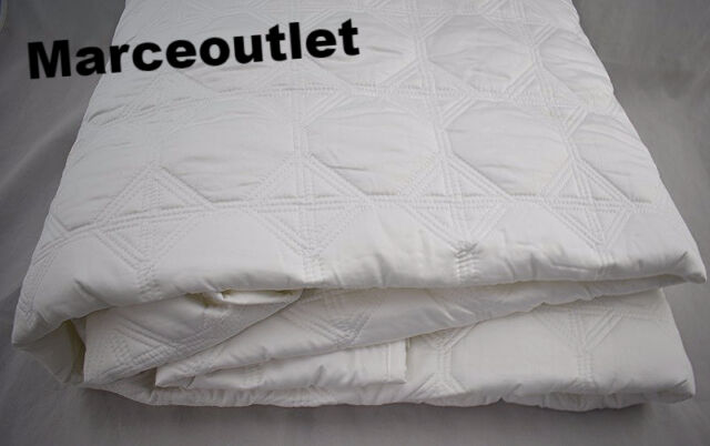 Hotel Collection Bedding Basic Cane KING Cotton Quilted Coverlet White
