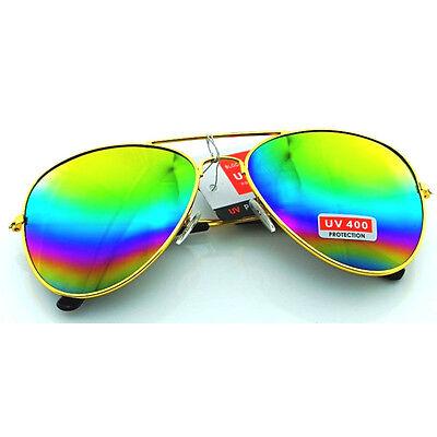Unisex Vintage Retro children Glasses Aviator Mirror Lens Sunglasses Fashion