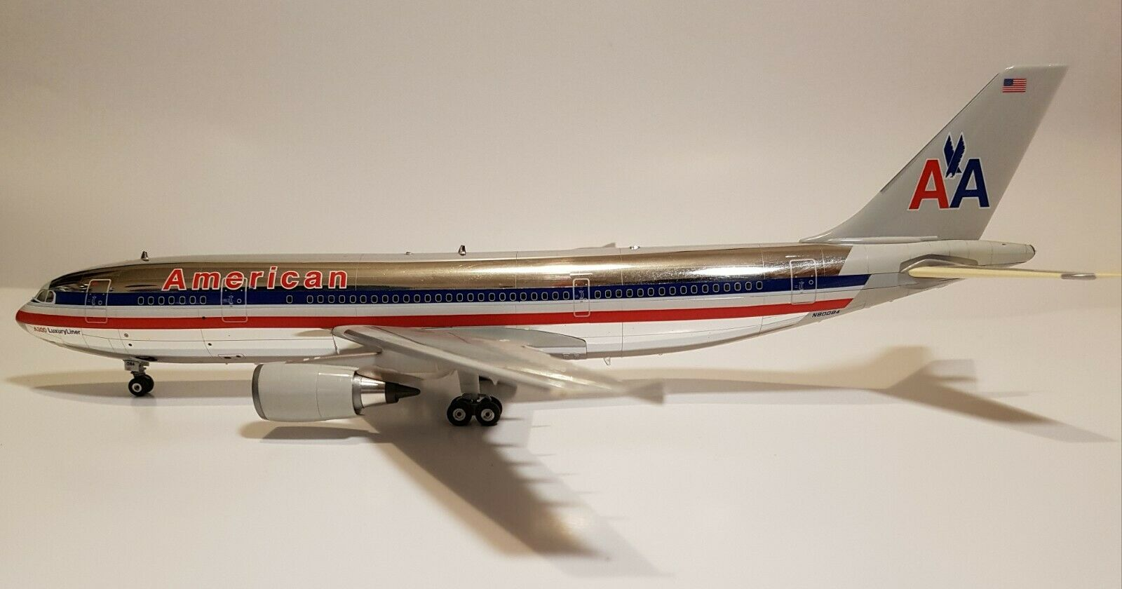 Herpa Premium 1 200 American Airlines Airbus a300-600 ultra rare 016353