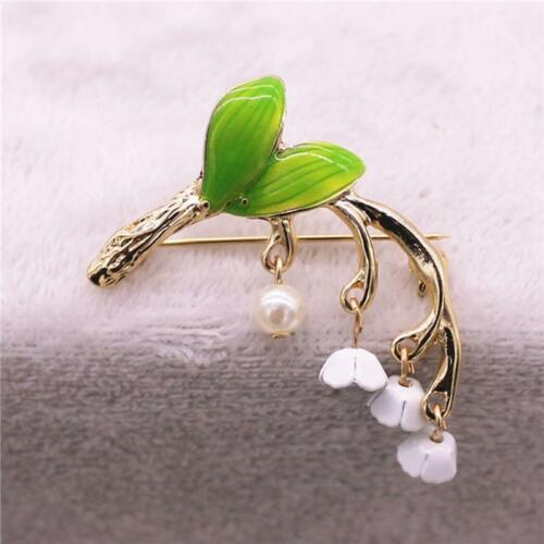 Gift Brooch Pin Lily Of The Valley Brooch Accessories Lily Of The Valley Pin LE