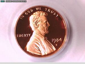 1984 S Lincoln Memorial Cent PCGS PR 69 RD DCAM 71640024 Video