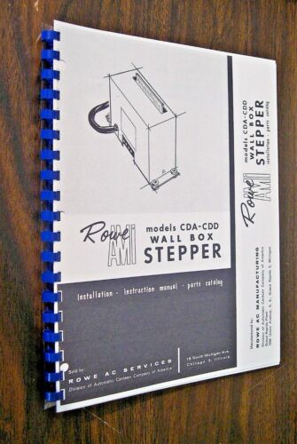 AMI  Wall Box Stepper Manual  Models CDA-CDD
