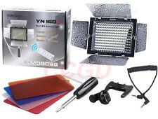 YN160II YN-160 II LED Video Light/Condenser MIC + IR Remote for SLR Camera DV