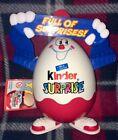 Kinder Surprise Ferraro Egg Man Full of Surprises Figure Storage Container