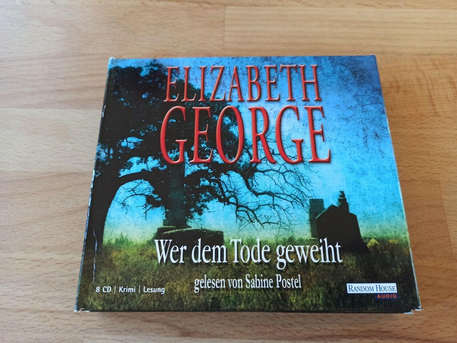Elizabeth George - Wer dem Tode geweiht - Hörbuch CD