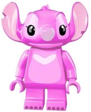 Película de Disney Lilo Stitch Caricatura Animada Angie Lego Personalizado Mini Figura Juguete