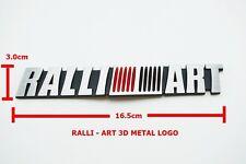 3D EMBLEM BADGE STICKER DECAL METAL RALLI-ART LOGO