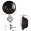 Negro-Par-7-034-LED-Proyector-Faro-Para-Land-Rover-Defender-para-recorrer miniatura 6