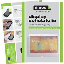 2x Samsung Galaxy Note 10.1 2014 Schutzfolie matt Displayschutzfolie Folie
