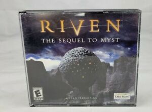 Riven The Sequel to Myst (1997 Windows 95/98 PC) Big Box