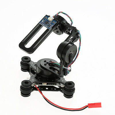 3 Axis Brushless Gimbal Camera Mount w/ 32bit Storm32 Controller Gopro 3 4 fpv