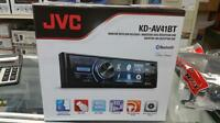 Jvc Kd-av41bt 1-din In-dash Dvd Cd Usb Bluetooth Receiver W/ 3 Qvga Display