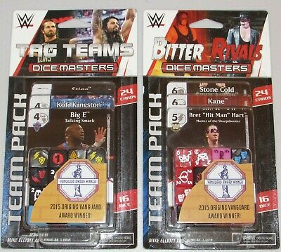 WWE Dice Masters Tag Team Team Pack