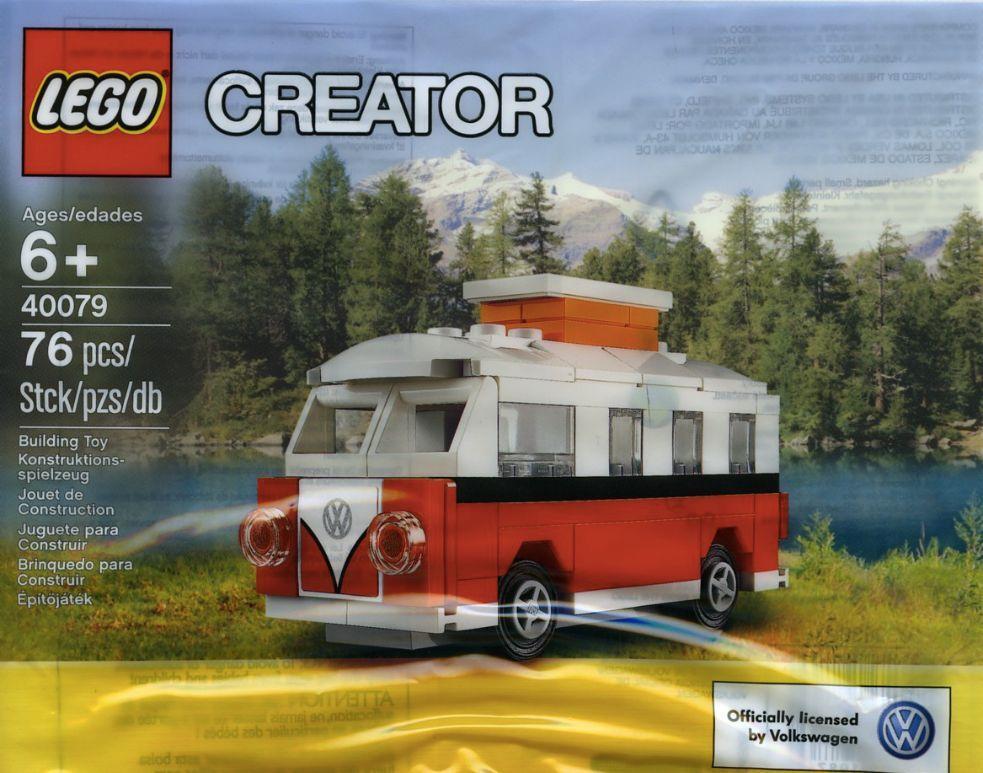 LEGO ® Creator 40079 Mini vw t1 Camper Van nouveau nouveau nouveau film! New dans polybag 76 PIECES! e36f15