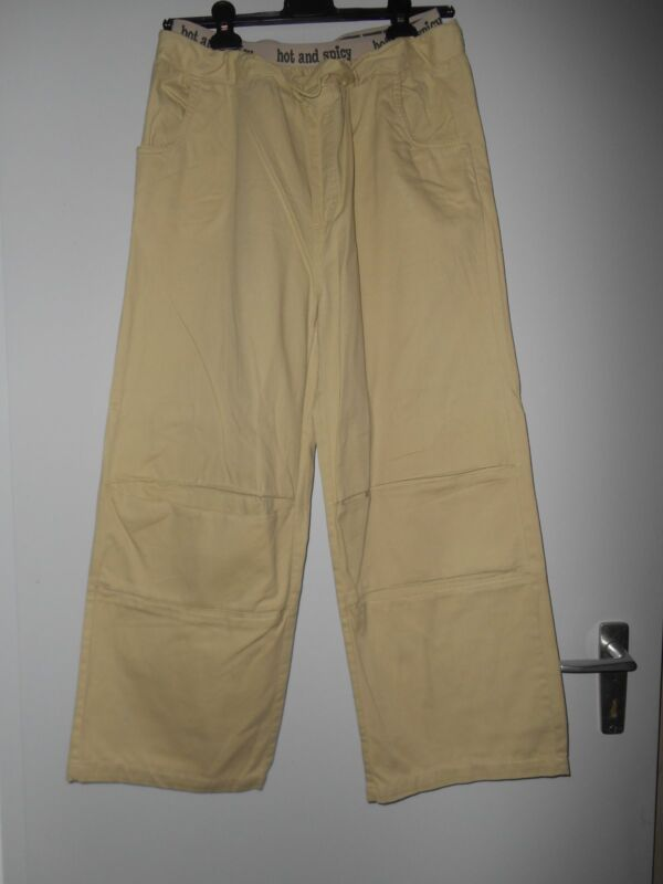 Beige Damen-hose ,gr.42,1xgetragen, 100 % Baumwolle