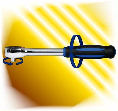12,5 mm 05914L Chrom-Vanadium 1//2 Zoll SW-Stahl Drehgriffknarre