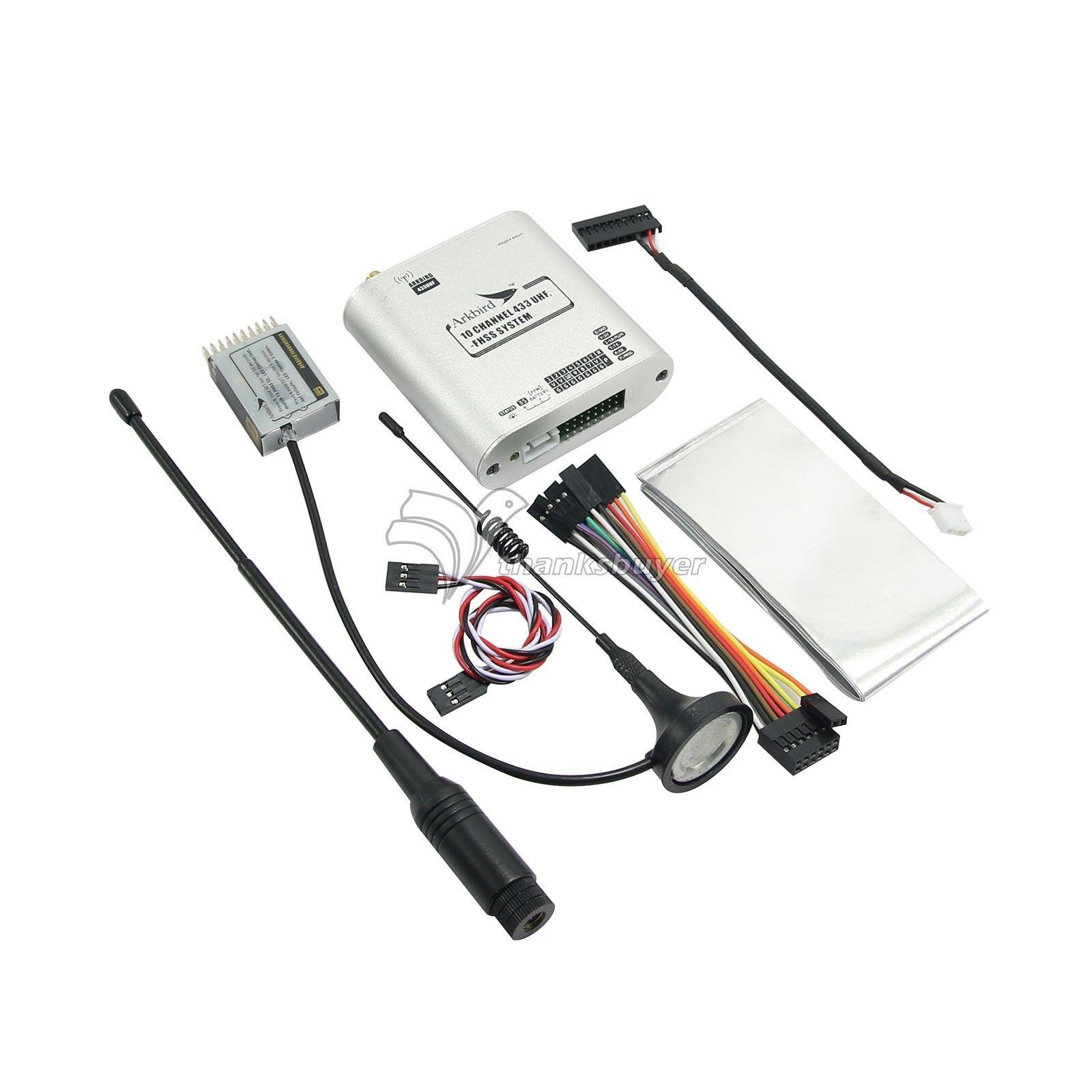Arkbird Largo Alcance Uhf 433 Mhz Fpv Rc Sistema De Control Tx rx Transmisor Y Receptor